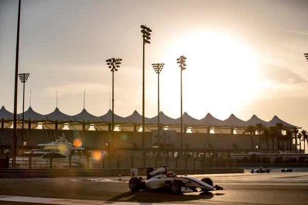 2016 GP3 Series Test 5. Yas Marina Circuit, Abu Dhabi, United Arab Emirates. Wednesday 30 November 2016. Tarun Reddy (IND, Koiranen GP)  Photo: Zak Mauger/GP3 Series Media Service. ref: Digital Image _X0W1856