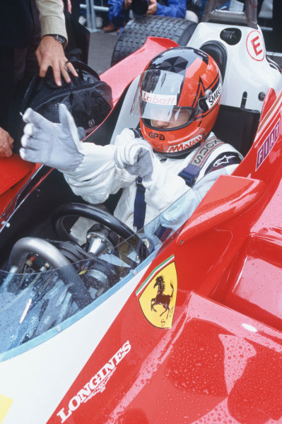 2004 Festival of Speed, Goodwood, England.25th-27th June 2004Jacques Villeneuve drives the 1978 Ferrari 312T3 that his father Gilles drove.World Copyright LAT Photographic.ref: 35mm image