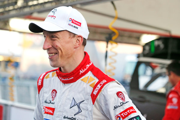 2015 World Rally Championship  Round 12, Rally of Spain, Catalunya 22nd - 25th October, 2015 Kris Meeke, DS, portrait  Worldwide Copyright: McKlein/LAT