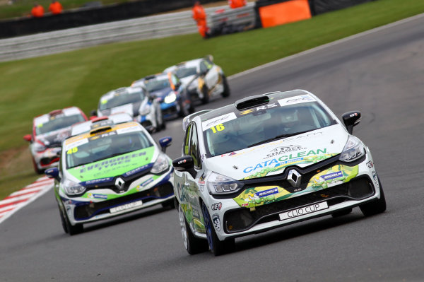 2017 Renault Clio Cup, Brands Hatch, Kent. 30th September - 1st October 2017, Daniel Rowbottom (GBR) DRM Renault Clio Cup World copyright. JEP/LAT Images