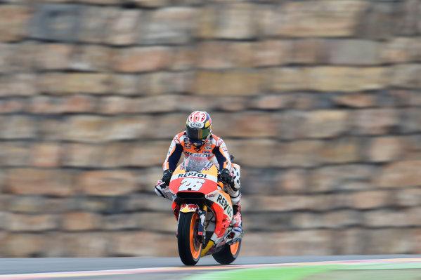 2017 MotoGP Championship - Round 14 Aragon, Spain. Friday 22 September 2017 Dani Pedrosa, Repsol Honda Team World Copyright: Gold and Goose / LAT Images ref: Digital Image 693811