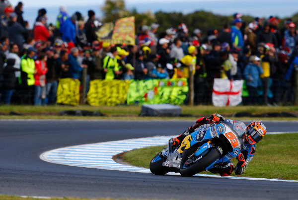 2017 MotoGP Championship - Round 16 Phillip Island, Australia. Sunday 22 October 2017 Tito Rabat, Estrella Galicia 0,0 Marc VDS World Copyright: Gold and Goose / LAT Images ref: Digital Image 24432