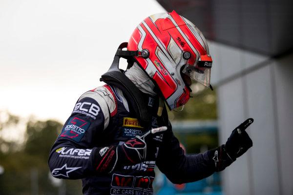 2017 FIA Formula 2 Round 9. Autodromo Nazionale di Monza, Monza, Italy. Saturday 2 September 2017. Luca Ghiotto (ITA, RUSSIAN TIME).  Photo: Zak Mauger/FIA Formula 2. ref: Digital Image _56I8370