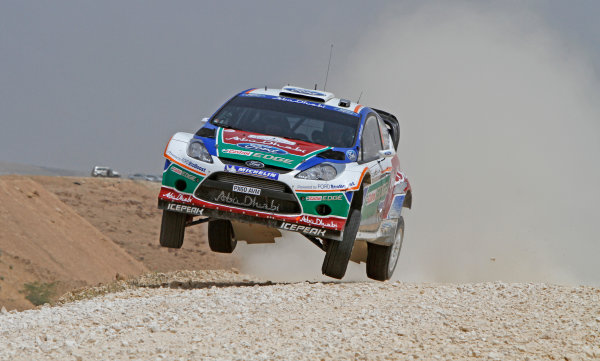 Round 04 Rally Jordan. 14th-16th April 2011.Jari-Matti Latvala, Ford WRC, Action.Worldwide Copyright: McKlein/LAT