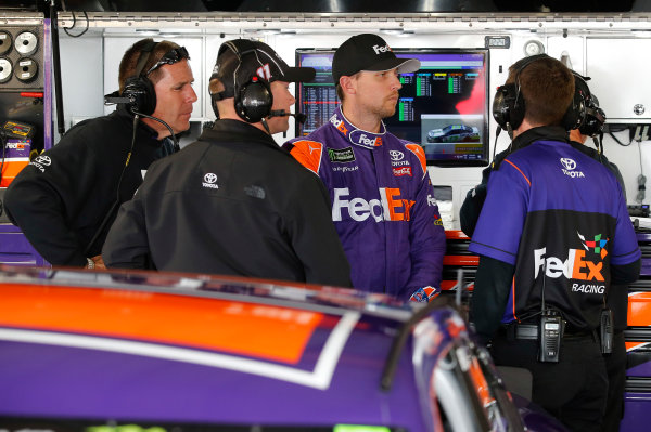 2017 Monster Energy NASCAR Cup Series STP 500 Martinsville Speedway, Martinsville, VA USA Friday 31 March 2017 Denny Hamlin, FedEx Express Toyota Camry World Copyright: Matthew T. Thacker/LAT Images ref: Digital Image 17MART11025