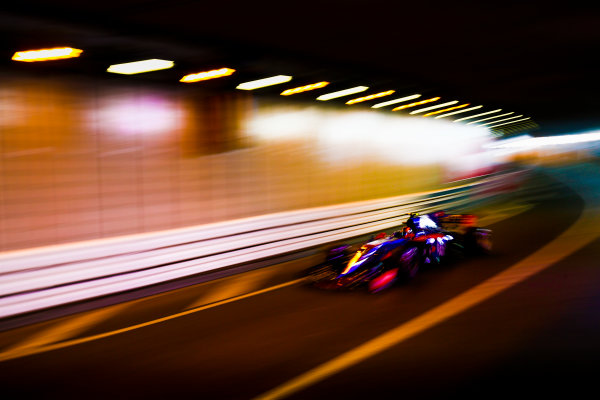Monte Carlo, Monaco. Thursday 25 May 2017. Carlos Sainz Jr, Toro Rosso STR12 Renault. World Copyright: Andy Hone/LAT Images ref: Digital Image _ONY8270