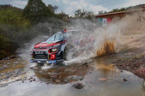 2017 FIA World Rally Championship, Round 03 , Rally Mexico, February 08-12, 2017, Stephane Lefebvre, Citroen, Action, Worldwide Copyright: McKlein/LAT