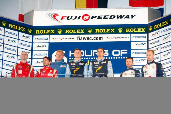 Fuji Speedway, Japan, 12th-14th October, 2012,GT Pro PodiumWorld Copyright Ebrey/LAT Photographic