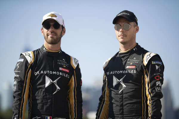 Jean-Eric Vergne (FRA), DS TECHEETAH and Andre Lotterer (DEU), DS TECHEETAH