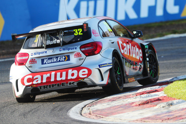 Jack Butel  - Carlube Triple R Racing with Lucas & Mac Tools Mercedes-Benz A-Class