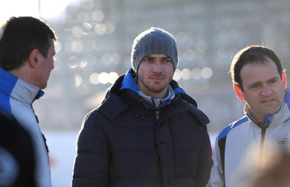 Edoardo Mortara (CHE) Venturi Formula E, walks the track
