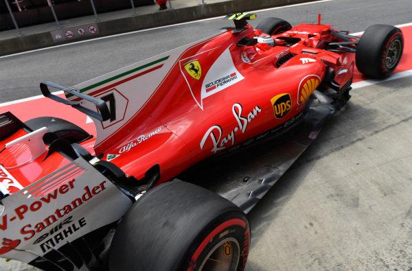 Kimi Raikkonen (FIN) Ferrari SF70-H at Formula One World Championship, Rd9, Austrian Grand Prix, Practice, Spielberg, Austria, Friday 7 July 2017. BEST IMAGE