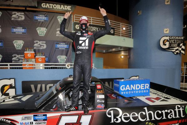 Race winner Kyle Busch, Kyle Busch Motorsports Toyota Cessna, Copyright: Chris Graythen/Getty Images.