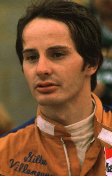 Italian Grand Prix, Monza, Italy.Gilles Villeneuve (Ferrari).Ref-V2A 02.World - LAT Photographic