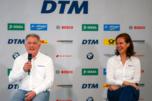 Catherine Bond Muir, CEO  and Dave Ryan, Racing Director