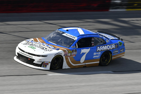 #7: Justin Allgaier, JR Motorsports, Chevrolet Camaro ARMOUR Vienna Sausage