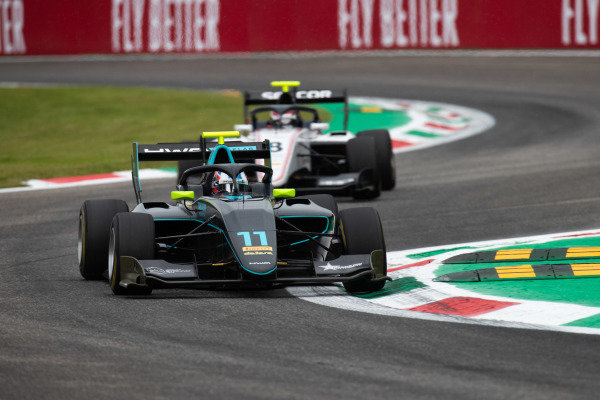 AUTODROMO NAZIONALE MONZA, ITALY - SEPTEMBER 06: Jake Hughes (GBR, HWA RACELAB) during the Monza at Autodromo Nazionale Monza on September 06, 2019 in Autodromo Nazionale Monza, Italy. (Photo by Joe Portlock / LAT Images / FIA F3 Championship)