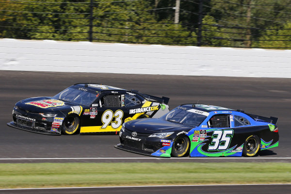 #35: Joey Gase, Motorsports Business Management, Toyota Supra MBM Motorsports and #93: Josh Bilicki, RSS Racing, Chevrolet Camaro RSS Racing Sci Aps