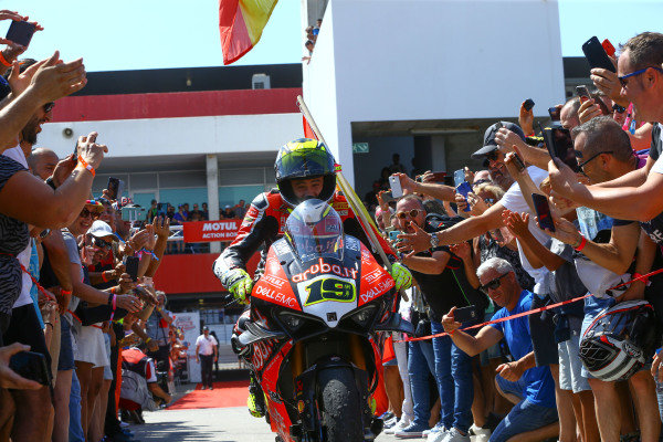 Alvaro Bautista, Aruba.it Racing-Ducati Team.