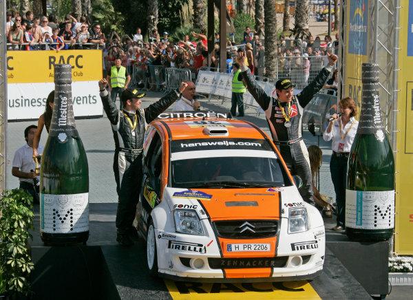 Round 11 Rally Catalunya 01-04 October 2009Bjorn Degant, Hans Weijs, J-WRC, Citroen, PortraitWorldwide Copyright: McKlein/LAT