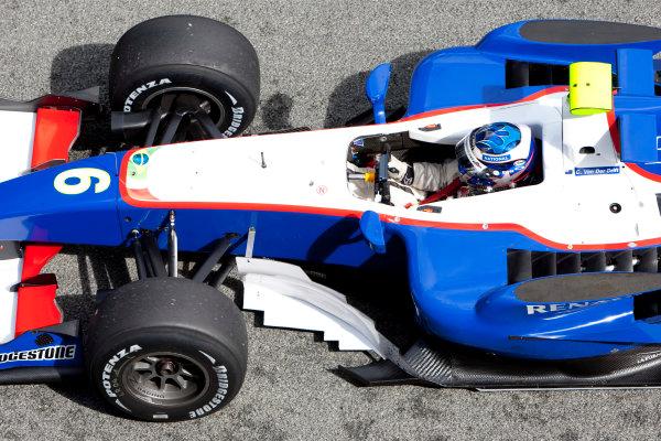 Jerez, Spain. Thursday 8th October. Chris Van der Drift (NZL, Piquet GP). Action.  World Copyright: Alastair Staley/ GP2 Series Media Service.Ref: _O9T7264 jpg