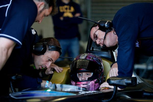 FIA Formula E Test Day, Donington Park, UK.  9th - 10th July 2014.  Michela Cerruti, Trulli GP. Photo: Glenn Dunbar/FIA Formula E ref: Digital Image _89P3325