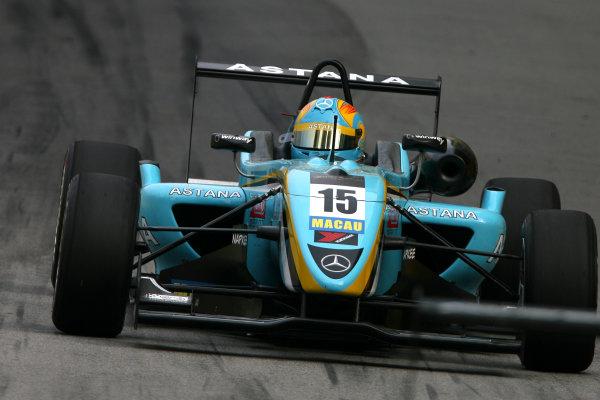Circuit de Guia, Macau. 18th - 21st November 2010.Daniel Juncadella (ESP) Prema Powerteam Dallara Mercedes.World Copyright: Ebrey/LAT Photographic.