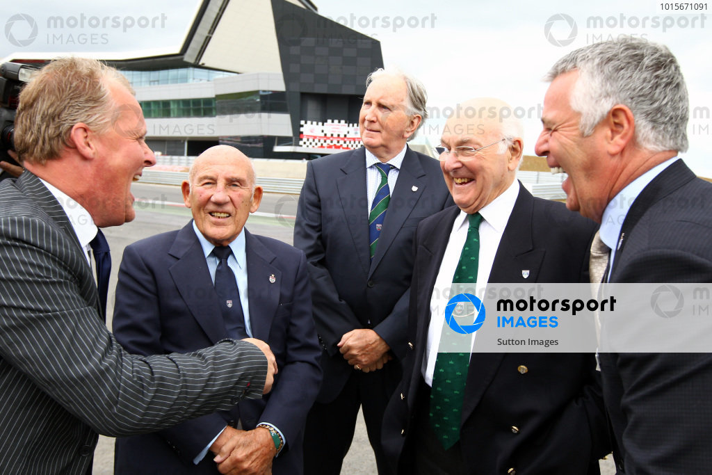 Silverstone Wing Official Opening