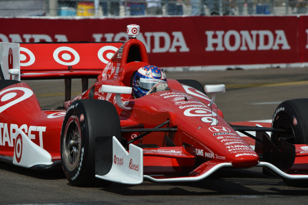 Scott Dixon (NZL) Target Ganassi Racing. IndyCar Series, Rd1, Honda Grand Prix of St. Petersburg, St. Petersburg, Florida, USA, 22-24 March 2013.