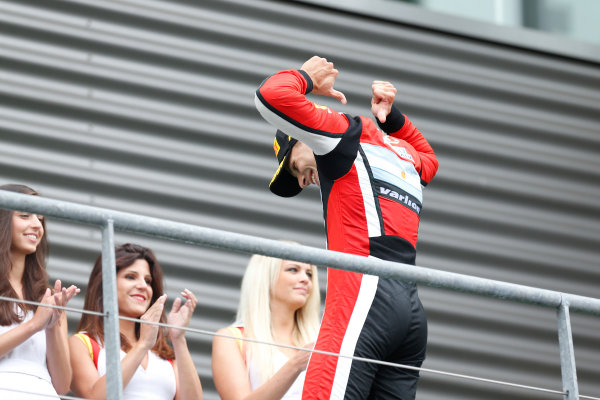 2013 GP3 Series. Round 6.  Spa - Francorchamps, Spa, Belgium. 25th August. Sunday Race. Facu Regalia (ARG, ART Grand Prix). World Copyright: Alastair Staley/GP3 Media Service. ref: Digital Image _R6T8202.jpg