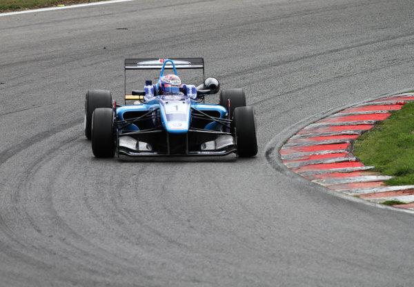 Brands Hatch, Kent. 10th - 11th August 2013.  Nicholas Latifi, Carlin Dallara VW.  Ref: IMG_7650a. World Copyright: Kevin Wood/LAT Photographic