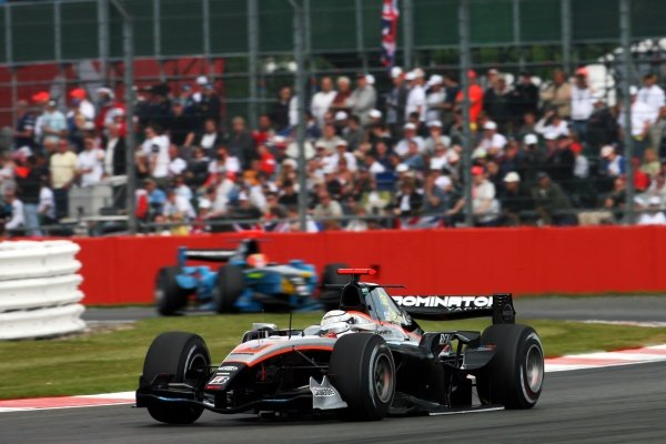 Andi Zuber (UAE) FMSI. GP2 Series, Rd 4, Race 2, Silverstone, England, Sunday 21 June 2009.