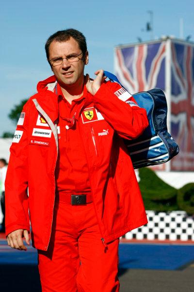 Silverstone, Northamptonshire, UK.4th July 2008.Stefano Domenicali, Sporting Director, Ferrari. Portrait. World Copyright: Charles Coates/LAT Photographic.ref: Digital Image _26Y1438
