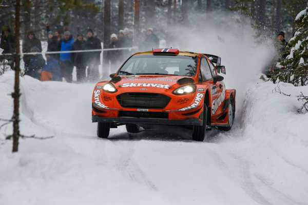 2018 FIA World Rally Championship, Round 02, Rally Sweden 2018, February 15-18, 2018. Henning Solberg, Ford, Action Worldwide Copyright: McKlein/LAT