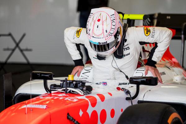 2017 FIA Formula 2 Round 6. Silverstone, Northamptonshire, UK. Friday 14 July 2017. Jordan King (GBR, MP Motorsport).  Photo: Zak Mauger/FIA Formula 2. ref: Digital Image _54I4864