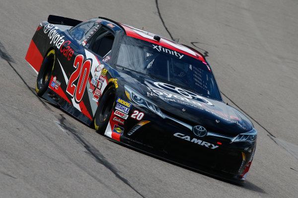 NASCAR XFINITY Series American Ethanol E15 250 presented by Enogen Iowa Speedway, Newton, IA USA Friday 23 June 2017 Christopher Bell, Toyotae Toyota Camry World Copyright: Brett Moist LAT Images