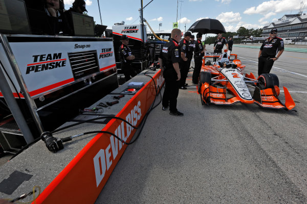 Verizon IndyCar Series Kohler Grand Prix Road America, Elkhart Lake, WI USA Friday 23 June 2017 Josef Newgarden, Team Penske Chevrolet World Copyright: Phillip Abbott LAT Images ref: Digital Image abbott_elkhart_0617_1411