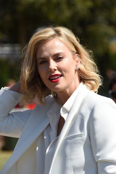 Charlize Theron (USA) Actress at Formula One World Championship, Rd1, Australian Grand Prix, Race, Albert Park, Melbourne, Australia, Sunday 15 March 2015.