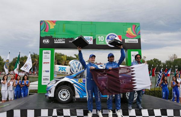 2013 World Rally Championship Rally Mexico 7th - 10th March 2013 Abdulaziz Al Kuwari, Ford, podium Worldwide Copyright: McKlein/LAT