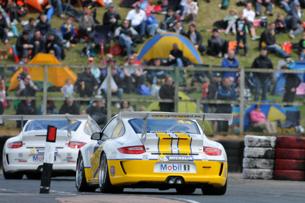 2013 Porsche Carrera Cup, Croft, North Yorkshire. 22nd-23rd June 2013, George Brewster (GBR) Celtic Speed Porsche Carrera Cup World Copyright: Ebrey/LAT Photographic