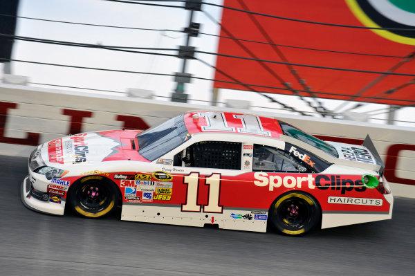 11-12 May, 2012, Darlington, South Carolina USADenny Hamlin, Sport Clips Toyota Camry(c)2012, LAT SouthLAT Photo USA