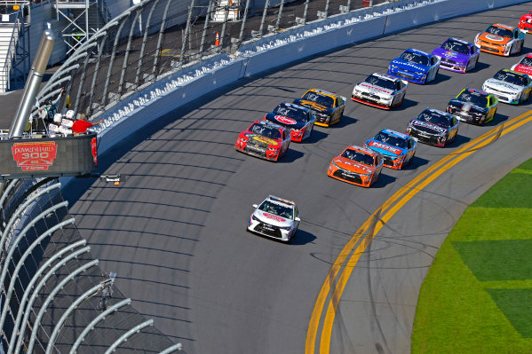 19-20 February, 2016, Daytona Beach, Florida USA A Toyota Camry Pace Car leads the field during the Parade and Pace laps. ?2016, F. Peirce Williams LAT Photo USA