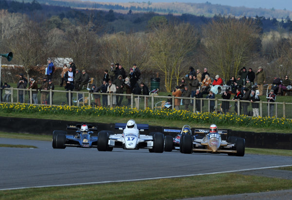 2016 74th Members Meeting Goodwood Estate, West Sussex,England 19th - 20th March 2016 Ground Effect Grand Prix Demo DevisArrows World Copyright : Jeff Bloxham/LAT Photographic Ref : Digital Image