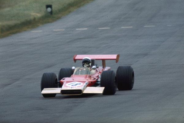 1969 British Grand Prix.Silverstone, England.17-19 July 1969.Joakim Bonnier (Ecurie Bonnier/Lotus 63 Ford).Ref-69 GB 35.World Copyright - LAT Photographic