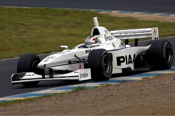 2004 Formula Nippon ChampionshipMotegi, Japan. 6th June 2004.Race winner, Andre Lotterer (PIAA Nakajima), action.World Copyright: Yasushi Ishihara/LAT Photographicref: Digital Image Only