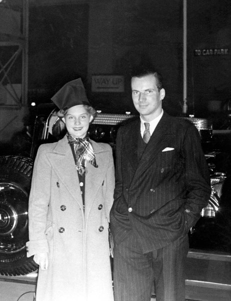 Dick Seaman and Erica Poppe, Portrait.