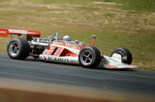 1972 USAC Indycar Series.Pocono, PA, USA. 29th July 1972.Mario Andretti (Parnelli-Offenhauser), 7th position.World Copyright: Murenbeeld/LAT Photographic