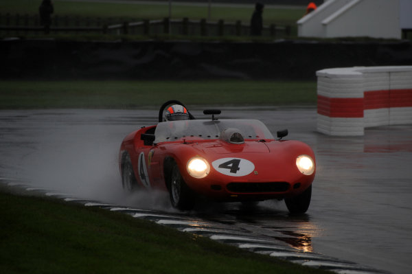 2017 Goodwood Revival, Goodwood Estate, West Sussex, England.  8th-10th September 2017 Sussex Trophy Sam Hancock Ferrari 246S Dino World Copyright: Jeff Bloxham/LAT Images, Ref: Digital Image