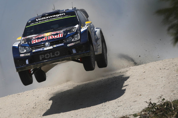 Andreas Mikkelsen (NOR) / Ola Floene (NOR) Volkswagen Polo R WRC at World Rally Championship, Rd5, Rally Portugal, Day One, Matosinhos, Portugal, 22 May 2015.