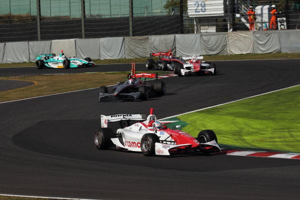 Suzuka Circuit, Japan. Rd 7 - 3rd - 4th November 2012. Race1 Start of the race, action. World Copyright: Yasushi Ishihara/LAT Photographic ref: Digital Image 2012FN_Rd7_001